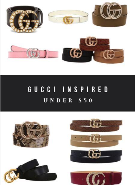 Gucci belt dupes!   #LTKstyletip #LTKunder50 #LTKsalealert