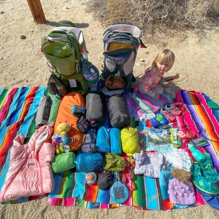 Backpacking gear  #LTKtravel #LTKfamily