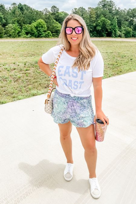 Comfort and style for traveling! Love this cute tee! #LTKstyletip #LTKunder50 #LTKtravel http://liketk.it/3gQFU #liketkit @liketoknow.it Shop my daily looks by following me on the LIKEtoKNOW.it shopping app
