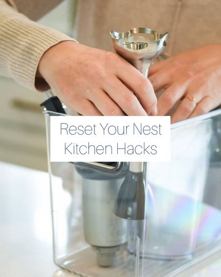 Shop some of Reset Your Nest's favorite containers! When you give something a home in a container, that IS the system! http://liketk.it/3kbfN @liketoknow.it #liketkit #LTKhome #LTKorganized @liketoknow.it.home