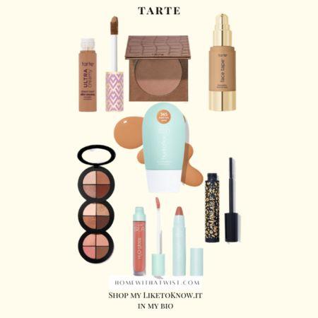 Tarte is on sale this weekend for LTK Day! http://liketk.it/3hjBr #liketkit @liketoknow.it #LTKDay #LTKbeauty