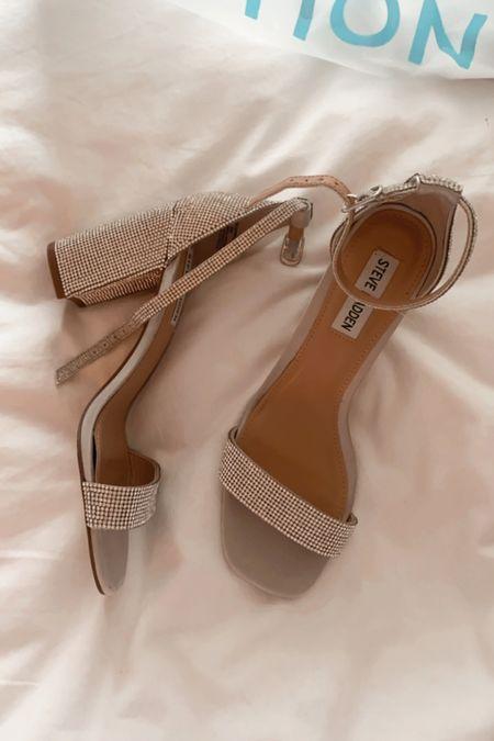 Steve madden rhinestone heels at such a great price   #LTKshoecrush #LTKstyletip #LTKunder50