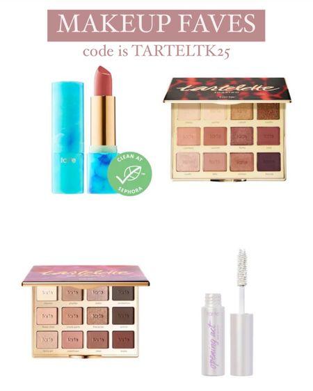 Makeup faves! #liketkit @liketoknow.it http://liketk.it/3hn5X code is TARTELTK25 #LTKunder50 #LTKbeauty #LTKsalealert