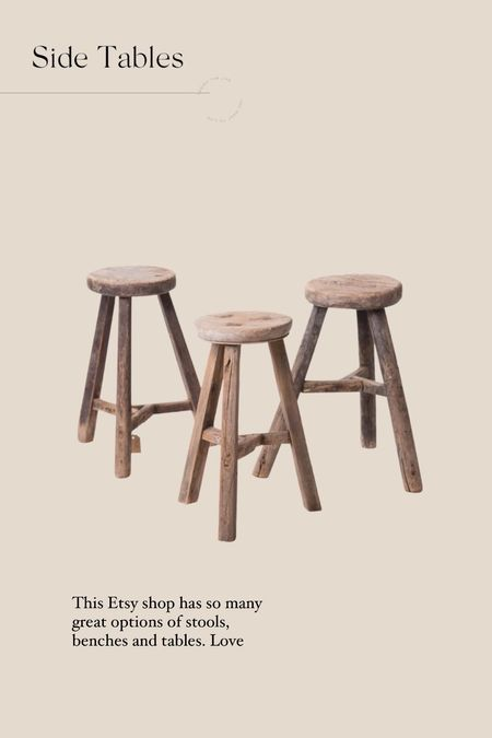 So impressed by this Etsy shop. They have lookalike benches to the ones we use as a coffee table in the treehouse.   #LTKhome
