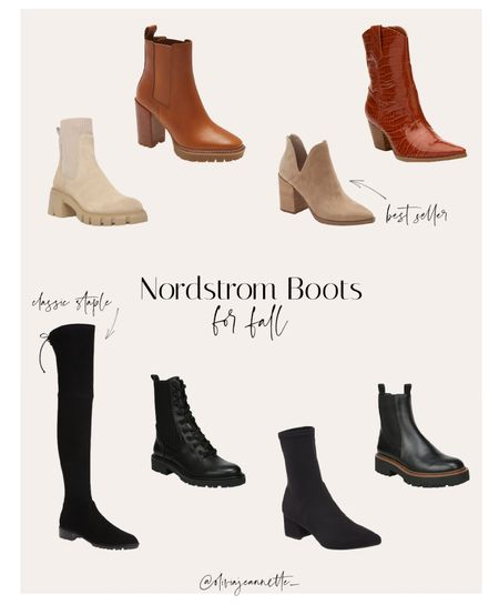 IT'S Fall! Stock up on the cutest boots now from Nordstrom. Classic staples and trendy pairs. 🤎  #LTKsalealert #LTKunder100 #LTKshoecrush