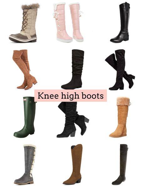 Knee high boots   #LTKSeasonal #LTKunder100 #LTKshoecrush