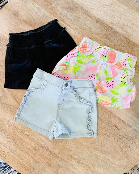 Summertime means time for shorts! Beckett is going to look so cute in these shorts that can go with a variety of different tops! All of these are from Walmart and are less than $4!   http://liketk.it/3ewLW #liketkit @liketoknow.it #LTKbaby #LTKsalealert #LTKkids