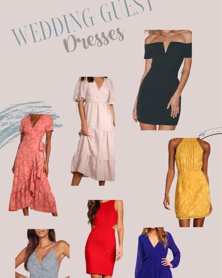 Wedding guest dress ideas! Love these dresses for any type of wedding! http://liketk.it/3jsQV #liketkit @liketoknow.it #LTKstyletip #LTKwedding #LTKunder100