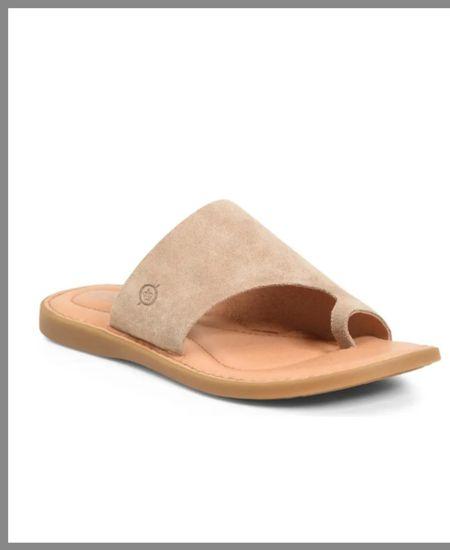 Suede sandal in the Nordstrom anniversary sale. Five color options.  summer shoe, sandals, flip-flop.  #LTKSeasonal #LTKsalealert #LTKshoecrush