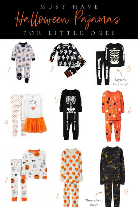 Halloween pajamas for kids 🧡 Here is a roundup of some of the best Halloween pajamas for both boys and girls from several of my favorite kid-friendly retailers. They're comfy and the perfect level of fun+spooky. Too good to miss!  #LTKkids #LTKunder100 #LTKHoliday