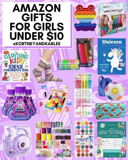 Amazon Gifts for Girls Under $10!  Amazon gift guide for girls | Amazon toddler gift guide | Amazon stocking stuffers | stocking stuffers from amazon | under $10 gifts | under $10 stocking stuffers | stocking stuffers under $10 | amazon prime stocking stuffers under $10 | girly stocking stuffers | amazon prime stocking stuffers | stocking stuffer ideas | stocking stuffers amazon prime | amazon prime gift ideas | amazon stocking ideas | amazon gift ideas | amazon gift guide | amazon gift guide for her | Amazon finds | amazon girly things | amazon beauty | amazon home finds | amazon self care | amazon beauty favorites | amazon fashion favorites | amazon must haves | amazon best sellers | amazon fall finds | amazon fall favorites | fall favorites | amazon fall essentials | amazon fall must haves | amazon travel favorites | amazon travel finds | amazon travel must haves | amazon winter finds | amazon winter favorites | winter favorites | amazon winter essentials | amazon winter must haves | amazon gift guide | amazon gift ideas | gift guide amazon | holiday gift guide | amazon gifts | gift ideas from amazon | gift guide from amazon | amazon fall decor | amazon fall home decor | amazon winter decor | amazon winter home decor | amazon fall things | amazon winter things | amazon Christmas decor | amazon Thanksgiving decor | amazon Halloween decor | amazon Christmas gifts | amazon Christmas gift guide | amazon Christmas gift ideas | amazon vacay favorites | amazon vacation favorites | Kortney and Karlee | #kortneyandkarlee #LTKGifts @liketoknow.it #liketkit  #LTKunder50 #LTKunder100 #LTKsalealert #LTKstyletip #LTKshoecrush #LTKSeasonal #LTKtravel #LTKswim #LTKbeauty #LTKhome #LTKHoliday