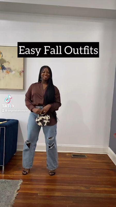 Easy fall outfits anyone can wear  #LTKSeasonal #LTKunder50 #LTKsalealert