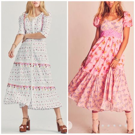 Maxi dress. Floral dress.  Wedding guest dress. Loveshackfancy.   #LTKstyletip #LTKwedding #LTKSeasonal