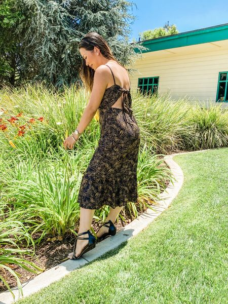 http://liketk.it/3i54n #liketkit @liketoknow.it midi dress, strappy sandals, summer dress, wedding guest dress #LTKunder100 #LTKsalealert #LTKstyletip Shop my daily looks by following me on the LIKEtoKNOW.it shopping app