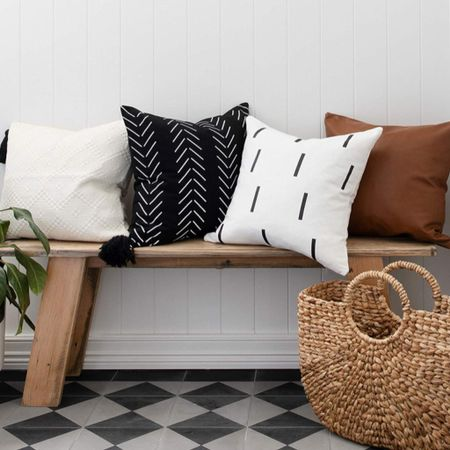 Boho throw pillow covers modern throw pillows minimalist style simple home decor boho home decor @liketoknow.it #liketkit http://liketk.it/2KoHa #LTKhome #LTKunder50 #LTKspring @liketoknow.it.home