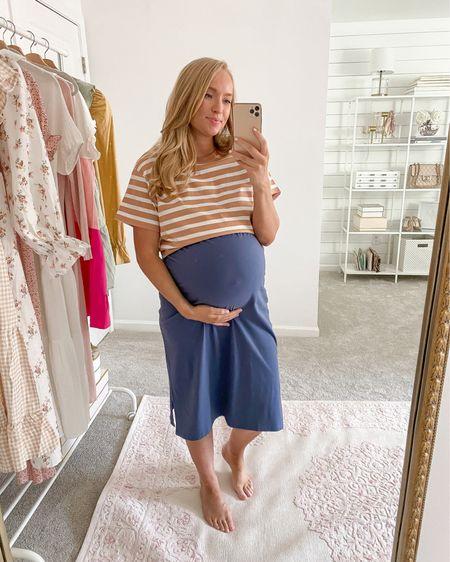 Comfy midi t shirt dress under $40 styled with a boxy tee over top!   Weari a medium in both.   #walmartfashion #walmartfinds #casualoutfit #summerdress #under50  http://liketk.it/3hWBW #liketkit @liketoknow.it #LTKbump #LTKunder50