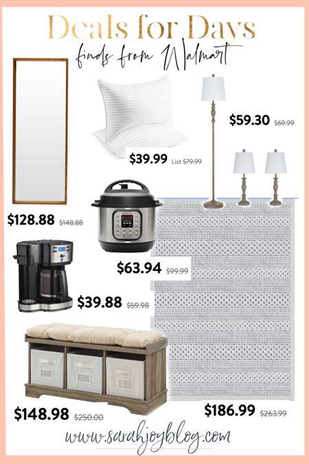 More finds from the Walmart deals for days sale! http://liketk.it/3i2vT #liketkit @liketoknow.it #LTKhome #LTKunder50 #LTKsalealert