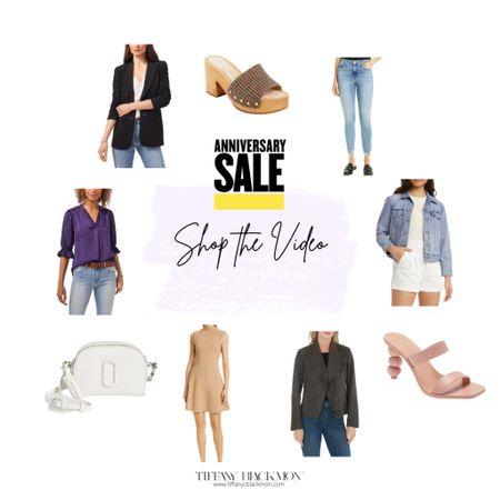 Shop the fabulous looks from my Nordstrom Anniversary Sale Tik Tok!🎉⭐️  #LTKSeasonal #LTKshoecrush #LTKsalealert