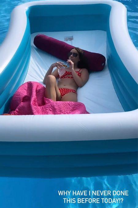 Best $25 this Inflatable pool!   #LTKswim #LTKunder100 #LTKunder50