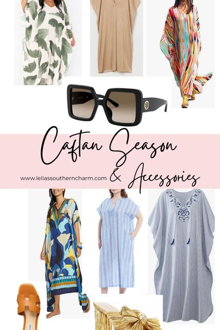 Caftan season is here! Pair it with some gorgeous slides and Tory Burch Sunnies and be fabulous!! http://liketk.it/3gUGy #liketkit @liketoknow.it #LTKtravel #LTKunder100 #LTKstyletip #caftan #toryburch #womensslides