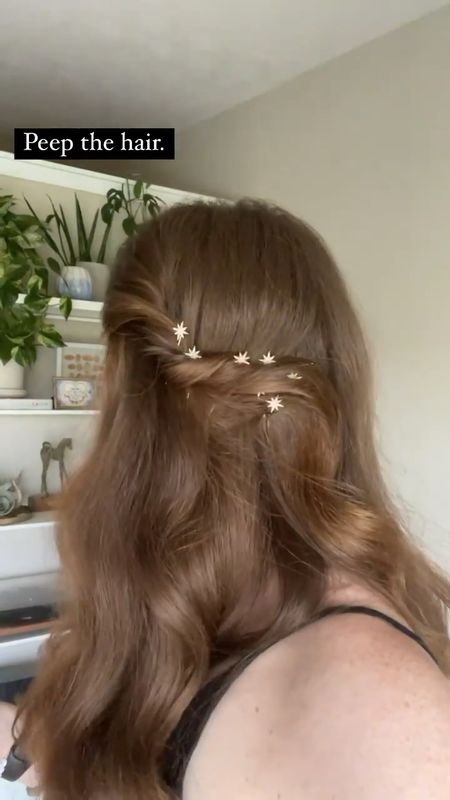 Last's night hair pins linked here. I purchased two sets, so I have more odd numbers to work with -3, 5, and 7. Great quality and good hold.   #LTKbeauty #LTKstyletip #LTKwedding
