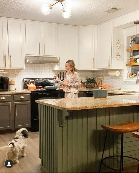 Boho green kitchen http://liketk.it/3aYaa #liketkit @liketoknow.it #StayHomeWithLTK #LTKhome #LTKfamily @liketoknow.it.home