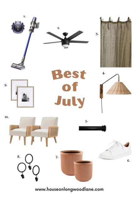 We're sharing the best of July today on houseonlongwoodlane.com including your favorites this month that just so happen to be on sale!   #LTKunder100 #LTKhome #LTKsalealert