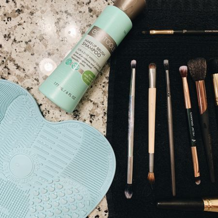 Everything you need to clean your makeup brushes and everything is under $15! 🙌🏻 http://liketk.it/2JCtm @liketoknow.it #liketkit #LTKbeauty