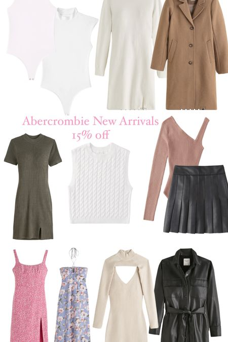 Abercrombie new arrivals, maxi dress, midi dress, sweater dress   #LTKsalealert #LTKunder50 #LTKunder100