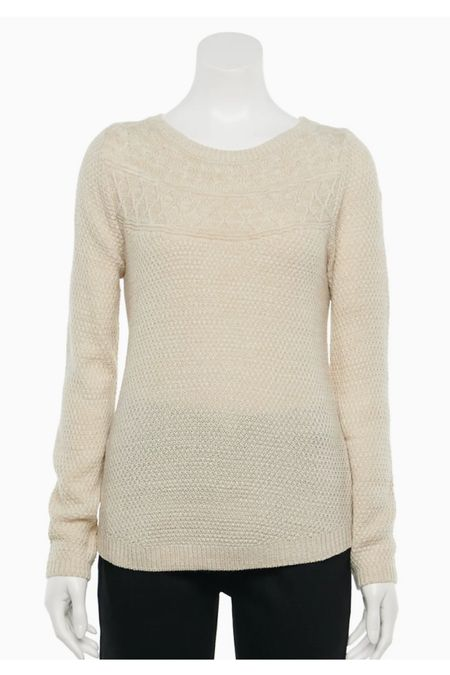 Boatneck sweater in 11 different colors on sale today for $2.40 😳 Code: SHOPFAMILY   #LTKsalealert