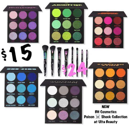 NEW BH Cosmetics Poison ☠️ Shock Collection !  #LTKunder50 #LTKbeauty #LTKSeasonal