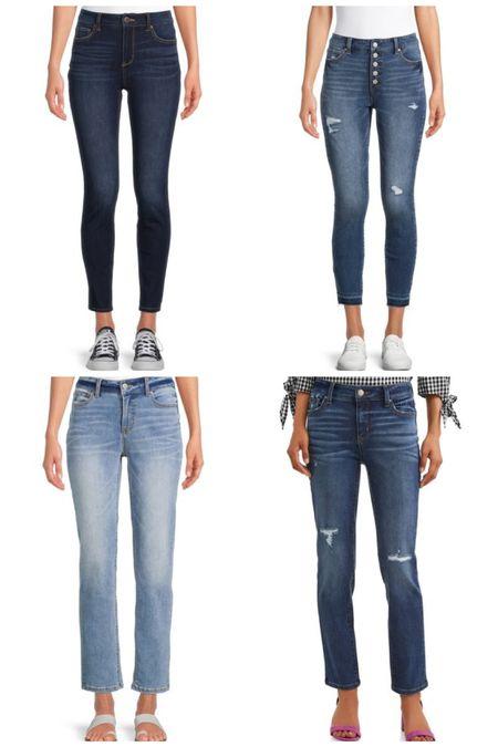 New Walmart jeans!   #LTKstyletip #LTKunder50 #LTKsalealert