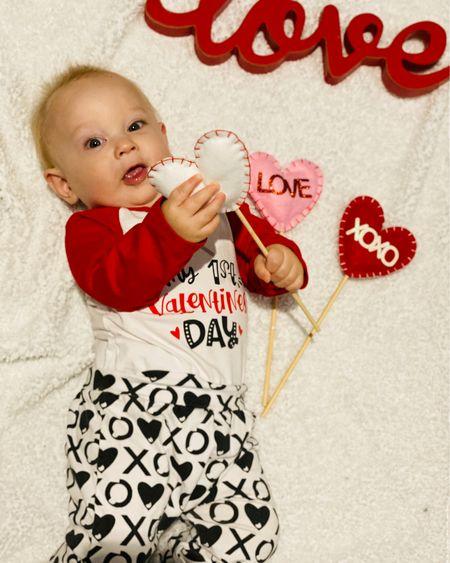 Baby 1st Valentine's Day    http://liketk.it/37fx0 @liketoknow.it #LTKVDay #LTKbaby #LTKbump @liketoknow.it.family #liketkit