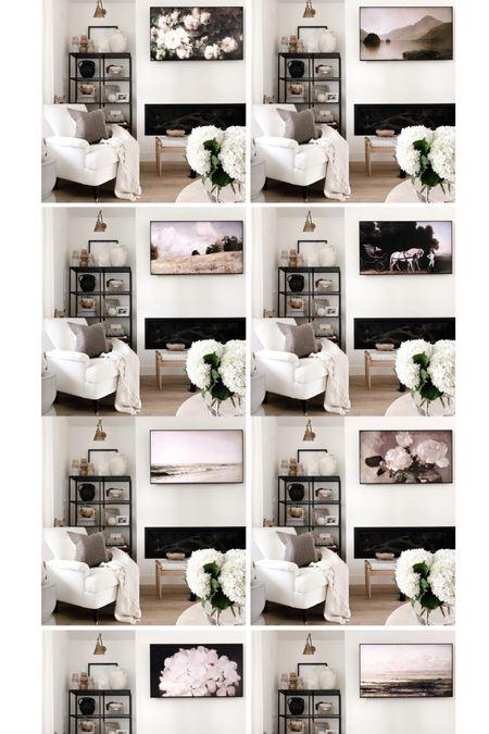 I linked some of my favorite downloadable prints for to my TV. Head to my ig to see how easy it is to display the art to make it look like a frame tv! http://liketk.it/3aumz #liketkit @liketoknow.it #tvart #gallerywall #digitalart