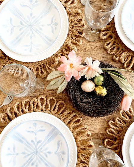 Easter Tablescape 2021  #LTKsalealert #LTKunder50 #LTKunder100