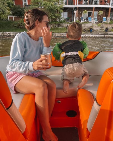 boat ride essentials : hair clips + toddler swim life jacket  http://liketk.it/3j24d #liketkit @liketoknow.it #LTKtravel #LTKswim #LTKbeauty