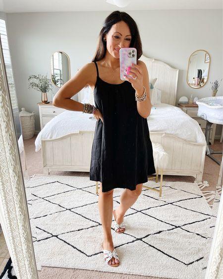 Dress is true to size - in a small   http://liketk.it/3fqmV #liketkit @liketoknow.it #LTKunder50 #LTKsalealert #LTKstyletip   little black dress Walmart fashion