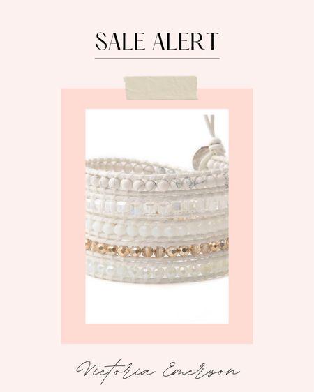 Victoria Emerson sale finds  #victoriaemerson #sale #bracelets #bohowraps   #ltkgiftguide #ltkcyberweek #ltkseasonal #ltkholiday  #LTKunder50 #LTKsalealert #LTKstyletip