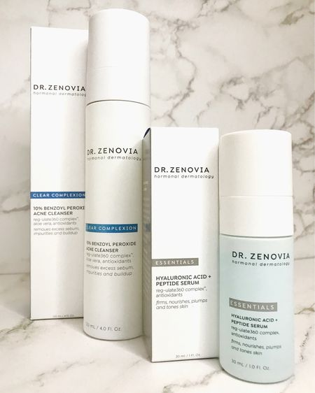 Dealing with hormonal skin issues like acne? Dr. Zenovia's skincare products are designed to help address these skin concerns! Available at Sephora.   #LTKunder50 #LTKfamily #LTKstyletip