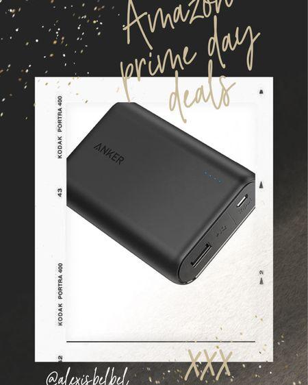 Portable charger on sale prime day #liketkit @liketoknow.it http://liketk.it/3id5I #LTKunder50 #LTKsalealert