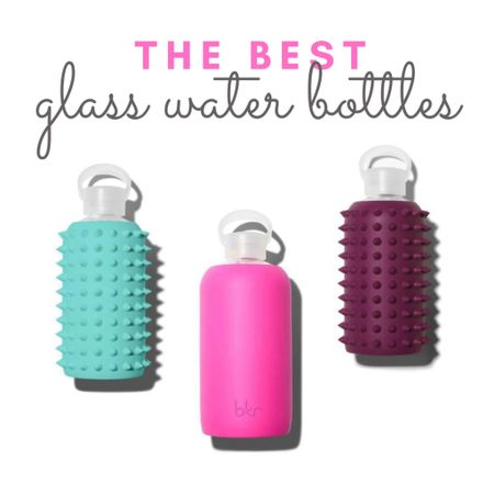 My absolute favorite glass water bottles! The big pink one is currently $20 off (and yes, I did just order one.) 💖 #waterbottle http://liketk.it/2U97C #liketkit @liketoknow.it #ltksalealert #ltkunder50   #StayHomeWithLTK #LTKfit #LTKhome