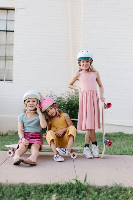 Skate or die girls. 🤙🏻😉  #LTKkids #LTKfamily