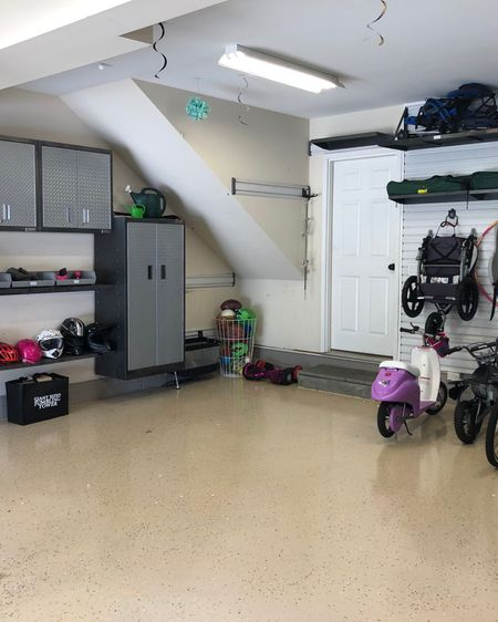 We love using the Gladiator system for garages.  It's incredibly solid and versatile!  #gladiator #garage #garageorganizing  http://liketk.it/3b0V4 #liketkit @liketoknow.it