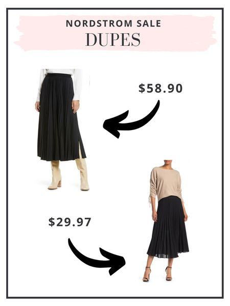 This adorable pleated maxi skirt from the Nordstrom Sale sold out, but we found this amazing dupe for under $30 http://liketk.it/3kamI #liketkit @liketoknow.it #LTKsalealert #LTKunder50 #LTKunder100