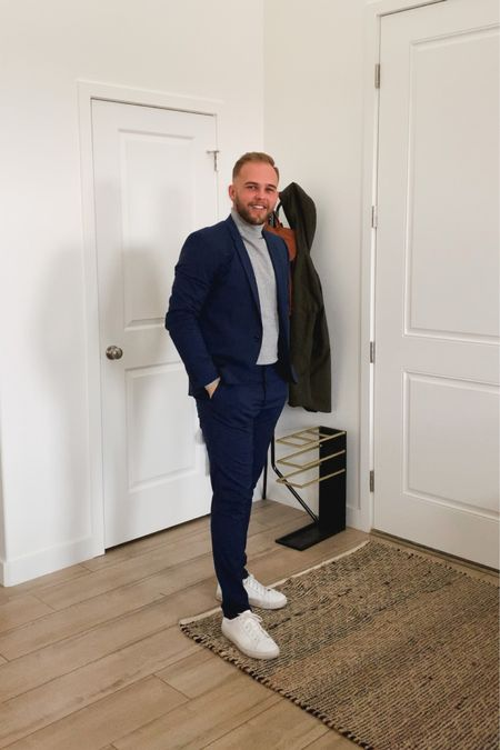 Great sales coming up tomorrow. This suit and sweater is from H&M and you can get the whole look (minus the shoes) for under $100 http://liketk.it/32hry #liketkit #LTKunder100 #LTKmens #LTKsalealert @liketoknow.it