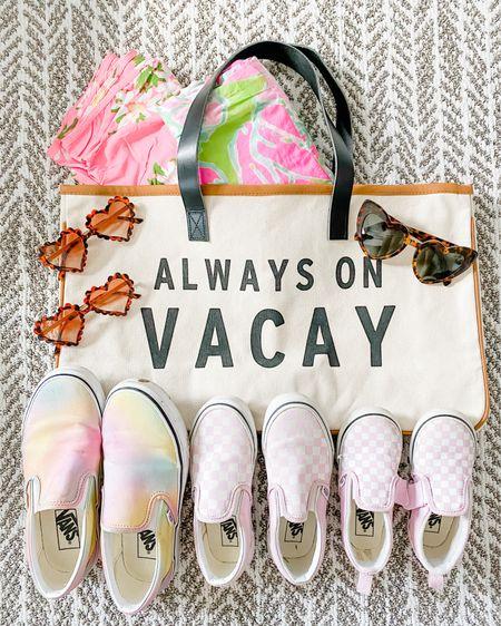 Always on Vacay. Travel bag. Travel with kids. Heart sunglasses kids.    http://liketk.it/3gnCj @liketoknow.it #liketkit #LTKfamily #LTKtravel #LTKunder50 @liketoknow.it.family