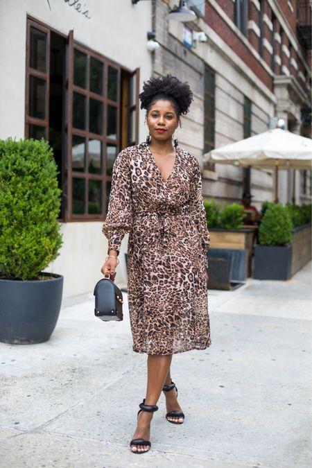 The Best Leopard Dresses over on my website fashionsteelenyc.com   #LTKunder50 #LTKstyletip #LTKworkwear