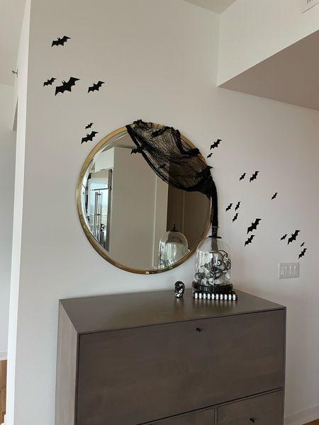 Halloween home decor spooky home decor bats skull cobweb  #LTKSeasonal #LTKunder50 #LTKhome