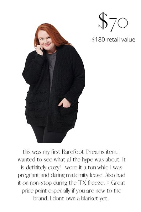 Barefoot dreams sweater deal!