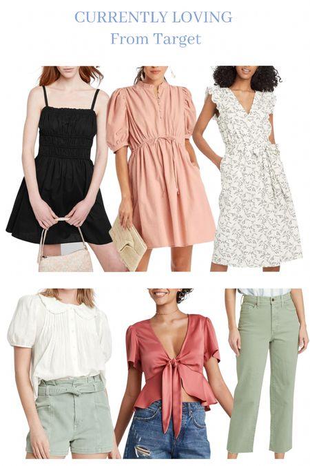 Target style. Affordable Dresses. Affordable losses. Summer to fall transition.  #LTKstyletip #LTKunder100 #LTKunder50